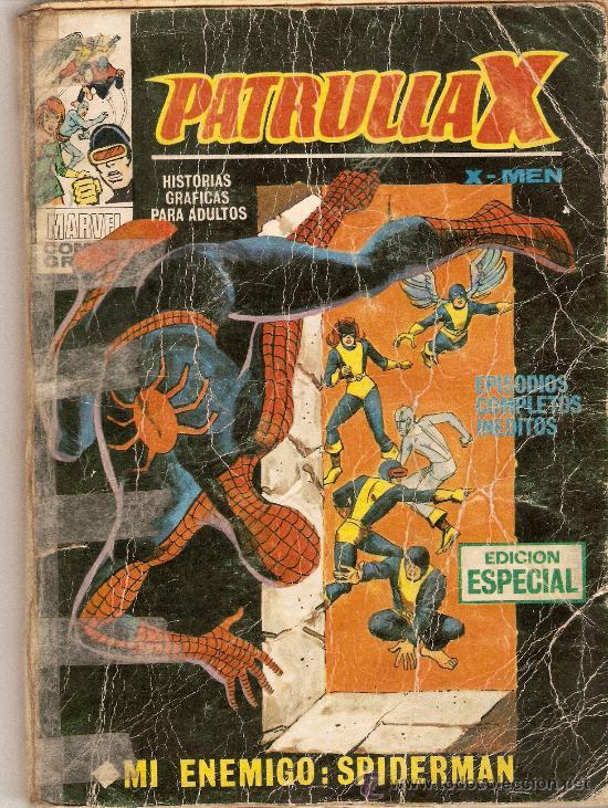 PATRULLA X - VOL 1 - VERTICE - N. 16 - MI ENEMIGO SPIDERMAN (Tebeos y Comics - Vértice - Patrulla X)