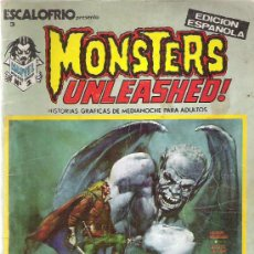 Cómics: ESCALOFRIO 3 - MONSTERS UNLEASHED ! Nº 1 VERTICE 1973. Lote 56906651