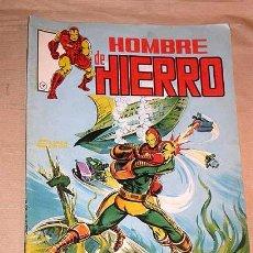 Cómics: EL HOMBRE DE HIERRO Nº 7. EL USO DE LA FUERZA MORTAL. BOB LAYTON, JOHN ROMITA JR. LINEA SURCO, 1983.. Lote 24536775