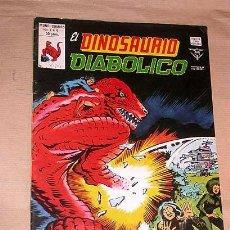 Cómics: EL DINOSAURIO DIABÓLICO Nº 4 ARBOL DEMONIO JACK KIRBY Y MIKE ROYER VÉRTICE 1980 TUMBITA TUNET VILA +. Lote 24536776