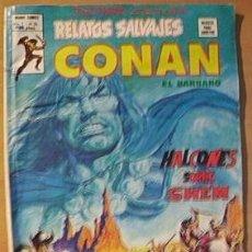 Cómics: CONAN EL BARBARO COMICS VERTICE HALCONES SOBRE SHEM. Lote 20710733