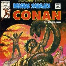 Cómics: RELATOS SALVAJES; CONAN EL BÁRBARO - VOL. 1, Nº 82 - ED. VÉRTICE 1974. Lote 12480375