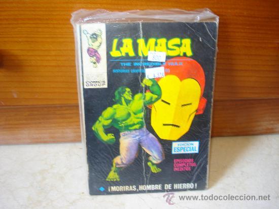 LA MASA V 1 Nº14 - ¡ MORIRAS HOMBRE DE HIERRO ! (Tebeos y Comics - Vértice - Hombre de Hierro)