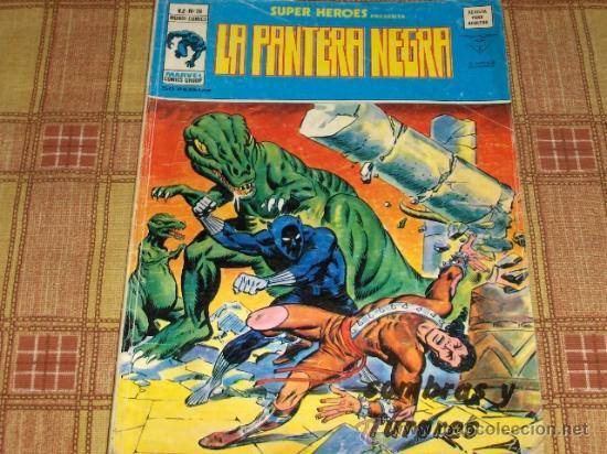 VÉRTICE VOL. 2 SUPER HÉROES Nº 79 CON LA PANTERA NEGRA. 50 PTS. 1977. REGALO Nº 104. (Tebeos y Comics - Vértice - Super Héroes)