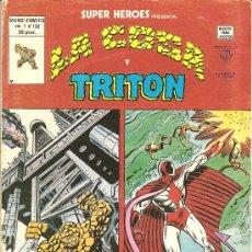 Cómics: SUPER HEROES V.2 Nº 130 LA COSA Y TRITON. Lote 16509563