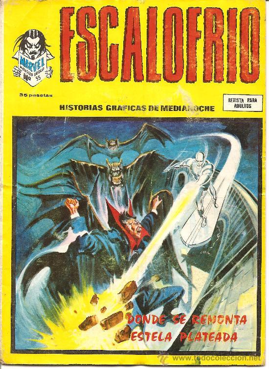 ESCALOFRIO Nº 55 (Tebeos y Comics - Vértice - Terror)