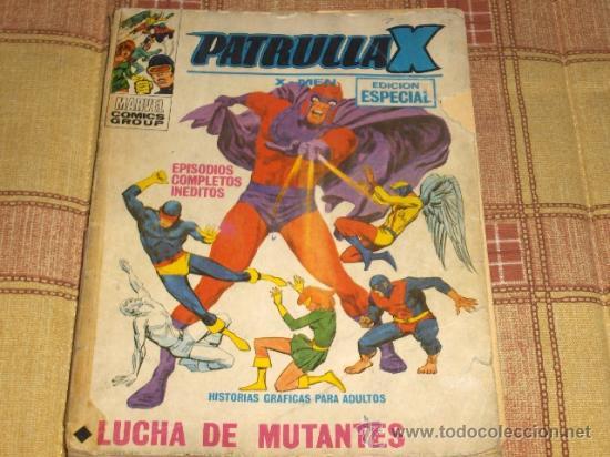 VÉRTICE VOL. 1 PATRULLA X Nº 25. 1970. 25 PTS. (Tebeos y Comics - Vértice - Patrulla X)