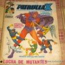 Cómics: VÉRTICE VOL. 1 PATRULLA X Nº 25. 1970. 25 PTS.. Lote 13051583
