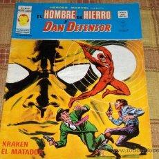 Cómics: VÉRTICE VOL. 2 HÉROES MARVEL Nº 37 CON HOMBRE DE HIERRO Y DAN DEFENSOR. 50 PTS. 1977.. Lote 43905027