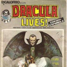 Cómics: ESCALOFRIO Nº 4 DRACULA LIVES Nº 1. Lote 26110053