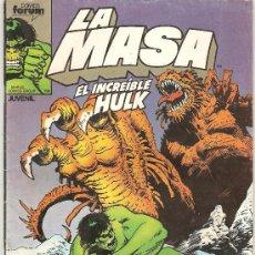 Cómics: LA MASA , EL INCREIBLE HULK Nº 40 , EDICIONES FORUM . Lote 22608614