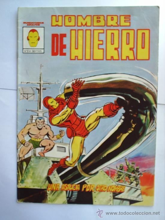 HOMBRE DE HIERRO -N.2--EDICION VERTICE (Tebeos y Comics - Vértice - Hombre de Hierro)