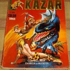 Cómics: VÉRTICE SURCO COLOR LÍNEA 83 RETAPADO Nº 1 KAZAR.. Lote 38867909