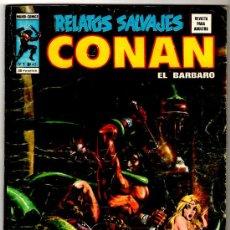 Cómics: RELATOS SALVAJES Nº 40, CONAN,SOLOMON KANE, LUKE CAGE, 4 FANTASTICOS, 84 PGS. Lote 14348183