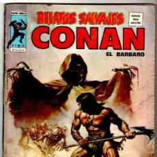 Cómics: RELATOS SALVAJES Nº 39, CONAN, LUKE CAGE, 84 PAGS. ALFREDO ALCALA,JOHN BUSCEMA,TUSKA ETC.. Lote 19889020