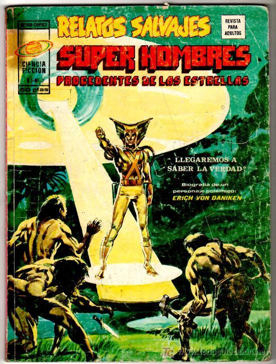 RELATOS SALVAJES Nº 7, CIENCIA FICCION 84 PGS.DIFICIL (Tebeos y Comics - Vértice - Relatos Salvajes)