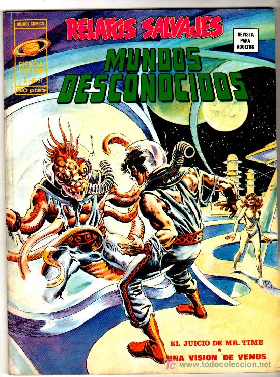 RELATOS SALVAJES Nº 21 CIENCIA FICCION (Tebeos y Comics - Vértice - Relatos Salvajes)