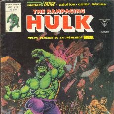 Cómics: THE RAMPAGING HULK (LA MASA) VOL. 1 NUMERO 13. Lote 26922161