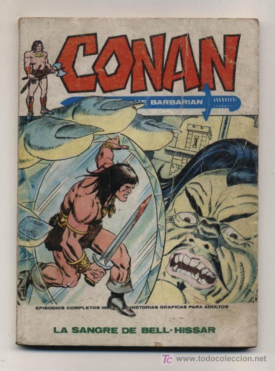 CONAN Nº 14. TACO. VERTICE 1973. 128 PÁGINAS. (Tebeos y Comics - Vértice - Conan)