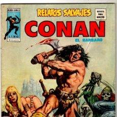 Cómics: RELATOS SALVAJES V-1 Nº 43, CONAN, 68 PGS. 1974. Lote 14653284