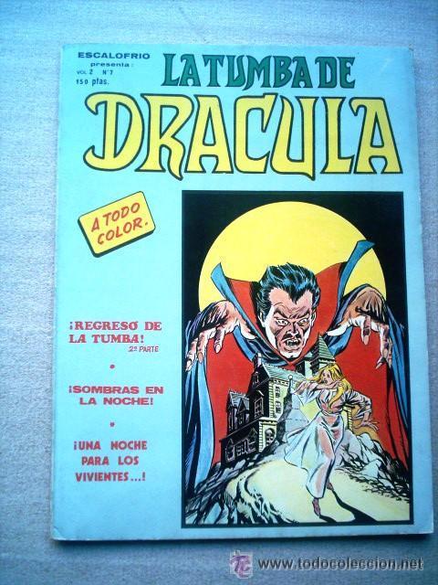 LA TUMBA DE DRACULA VOL 2 Nº 7 VERTICE 1981 ULTIMO NUMERO (Tebeos y Comics - Vértice - Terror)