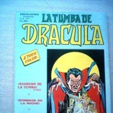 Cómics: LA TUMBA DE DRACULA VOL 2 Nº 7 VERTICE 1981 ULTIMO NUMERO. Lote 25736745