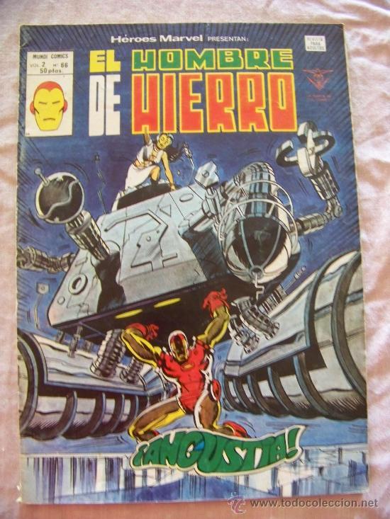 HEROES MARVEL Nº 66 VERTICE (Tebeos y Comics - Vértice - Hombre de Hierro)
