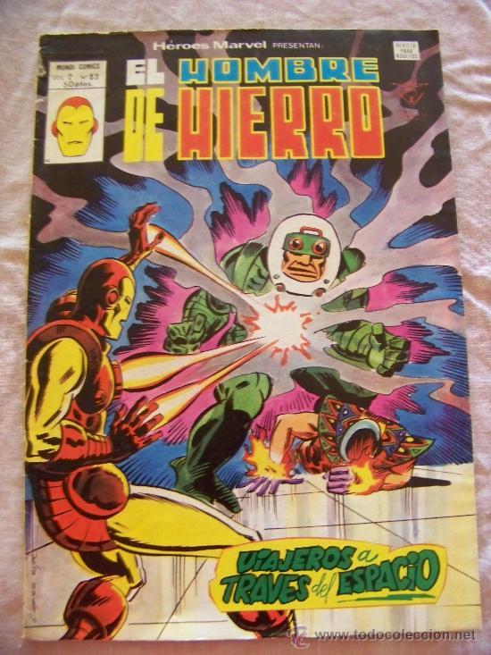 HEROES MARVEL Nº 63 VERTICE (Tebeos y Comics - Vértice - Hombre de Hierro)