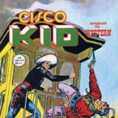 Cómics: CISCO KID Nº16 (EDIT. VÉRTICE, 1980). DIBUJOS DE JOSÉ LUIS SALINAS. Lote 16602870