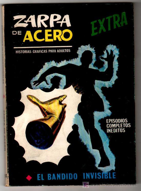 ZARPA DE ACERO EXTRA Nº 30 ÚLTIMO DE LA COLECCION, CON EL LOMO COMPLETO (Tebeos y Comics - Vértice - Otros)