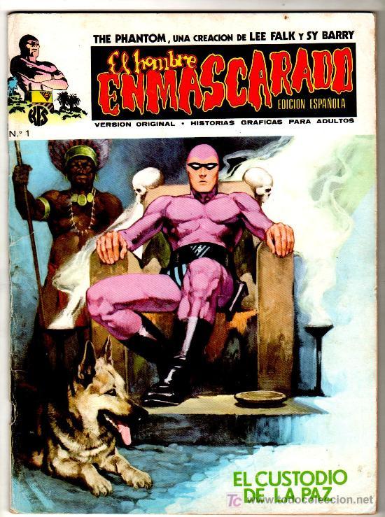 EL HOMBRE ENMASCARADO V-1 VERTICE, AÑO 1973, 1 AL 56 COMPLETA , VER 12 PORTADAS (Tebeos y Comics - Vértice - Hombre Enmascarado)