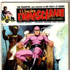 Cómics: EL HOMBRE ENMASCARADO V-1 VERTICE, AÑO 1973, 1 AL 56 COMPLETA , VER 12 PORTADAS. Lote 23612369