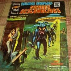 Cómics: VÉRTICE VOL. 1 RELATOS SALVAJES Nº 3 MUNDOS DESCONOCIDOS. 50 PTS. 1974. Y DIFÍCIL!!!!!!!. Lote 17151706