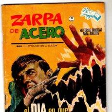 Cómics: ZARPA DE ACERO Nº 9, GRAPA, VERTICE 1ª EDICCION ENERO 1965, 64 PGS. DIBUJO JESÚS BLASCO. Lote 19699309