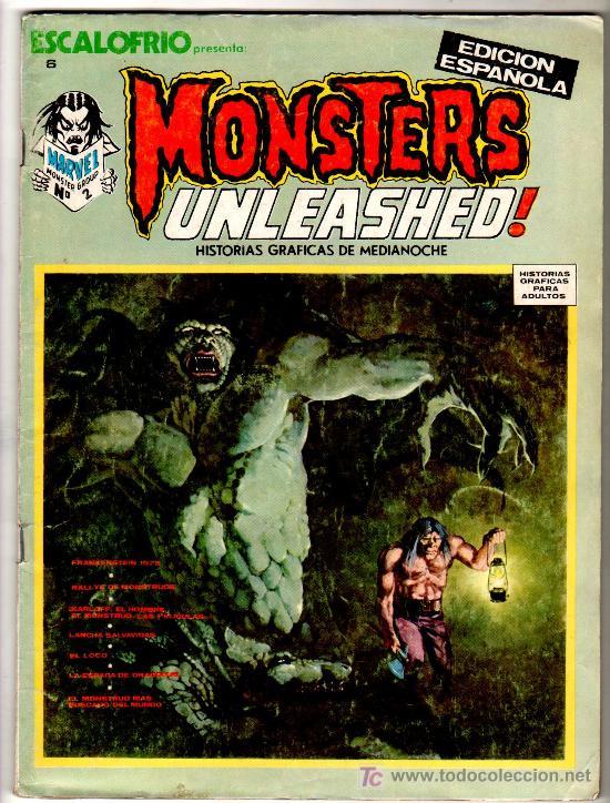 ESCALOFRIO Nº 6, MONSTERS UNLEASHED Nº 2 (Tebeos y Comics - Vértice - Terror)
