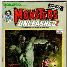 Cómics: ESCALOFRIO Nº 6, MONSTERS UNLEASHED Nº 2. Lote 15595495