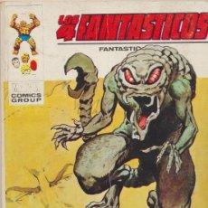 Cómics: LOS 4 FANTÁSTICOS Nº 54.TACO. VÉRTICE 1969.. Lote 26677176