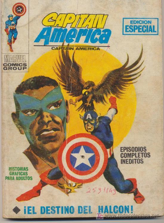 CAPITÁN AMÉRICA Nº 11.TACO.VÉRTICE 1969. (Tebeos y Comics - Vértice - Capitán América)