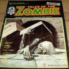 Cómics: VÉRTICE VOL. 1 ESCALOFRÍO Nº 2 TALES OF THE ZOMBIE Nº 1. 1973. 30 PTS. .. Lote 43225037