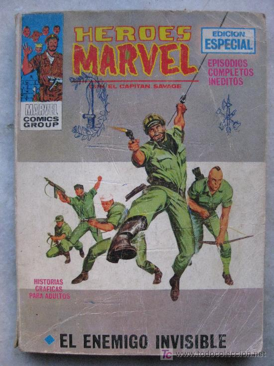 HEROES MARVEL- CAPITAN SAVAGE Nº 8-