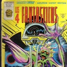 Cómics: LOS 4 FANTÁSTICOS - MUNDI COMICS VOL. 3 Nº 41 - COMICS VÉRTICE. Lote 16135078