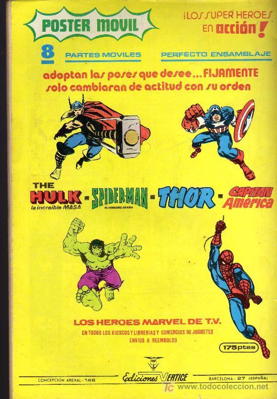 Cómics: LOS 4 FANTÁSTICOS - MUNDI COMICS VOL. 3 Nº 41 - COMICS VÉRTICE - Foto 2 - 16135078