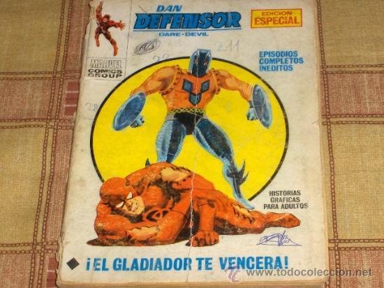 VÉRTICE VOL. 1 DAN DEFENSOR Nº 26. 1971. 25 PTS. (Tebeos y Comics - Vértice - Dan Defensor)