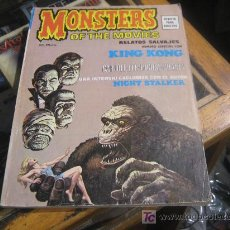 Cómics: RELATOS SALVAJES MONSTERS OF THE MOVIES V1 Nº 1. Lote 16291546