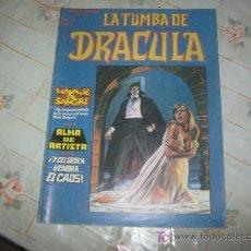 Cómics: LA TUMBA DE DRACULA Nº 3. Lote 16299684