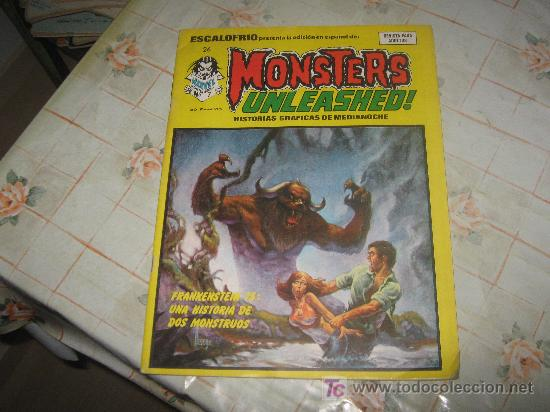 MONSTERS UNLEASHED Nº 7. (Tebeos y Comics - Vértice - Otros)