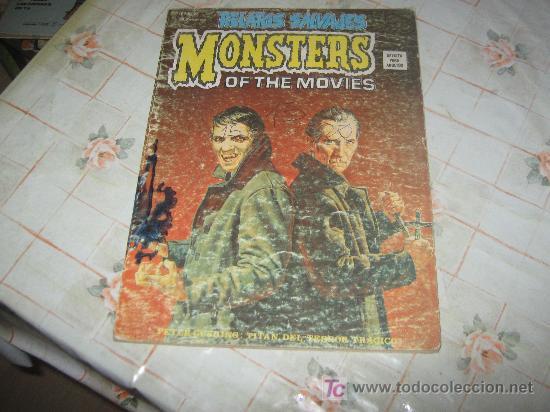 RELATOS SALVAJES MONSTERS Nº 26 (Tebeos y Comics - Vértice - Relatos Salvajes)