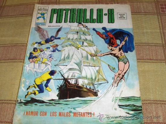 VÉRTICE VOL. 3 PATRULLA X Nº 3. 35 PTS. 1976. MUY DIFÍCIL!!!!!!!!!!!!!!!!!! (Tebeos y Comics - Vértice - Patrulla X)