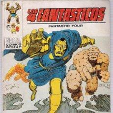 Cómics: LOS 4 FANTÁSTICOS Nº 40. TACO. VÉRTICE 1969 (30 PTAS). Lote 27486416