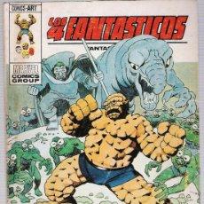 Cómics: LOS 4 FANTÁSTICOS Nº 63. TACO. VÉRTICE 1969 (30 PTAS). Lote 27486425